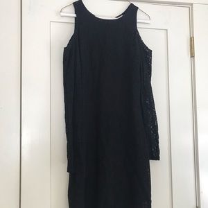 Mini Dress with Open Shoulders